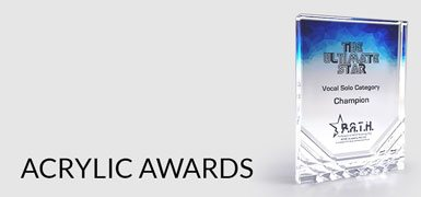 Acrylic awards