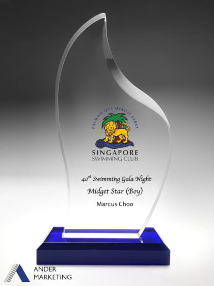 Acrylic Trophy Awards - A-26 Ander Marketing Singapore
