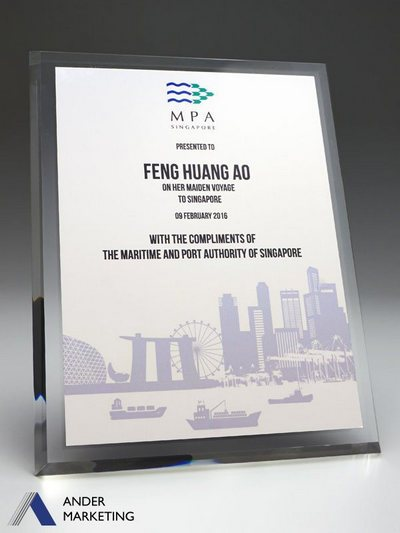 Acrylic Plaques PA-08 - Ander Marketing Singapore
