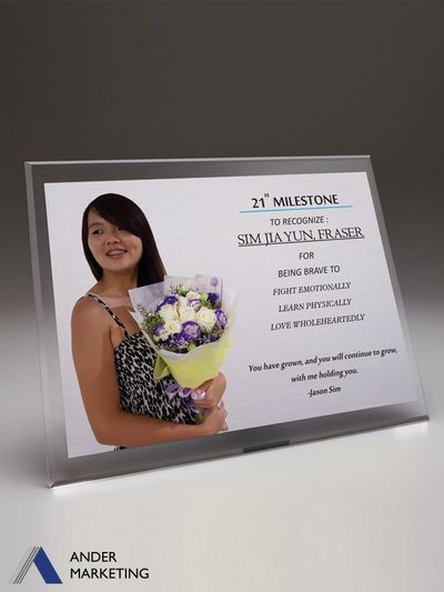 Acrylic Plaques - PA-PHOTO Ander Marketing Singapore
