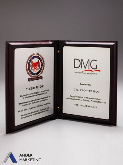 Plaques - PW-17 Ander Marketing Singapore