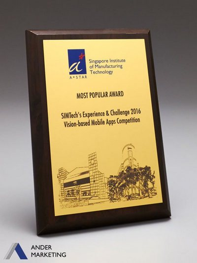 Plaques - PW-18 Ander Marketing Singapore