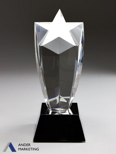 Crystal Trophy Awards - VCA-56MT Ander Marketing Singapore
